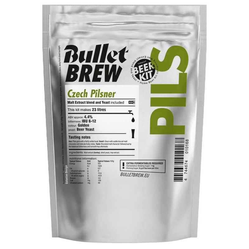 Bullet Brew Czech Pilsner, 1,8 kg