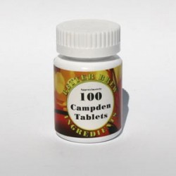 Campden tabletid, 100tk